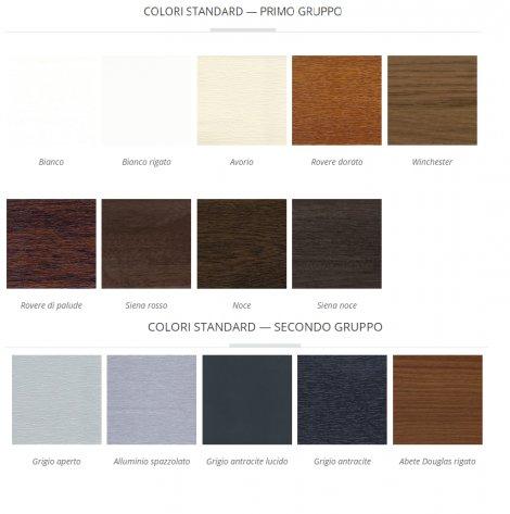 Finextra riccione finestre persiane ed oscuranti - Colori per porte ...